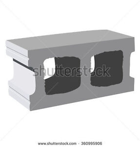 Wanted Cinder Blocks in good condition