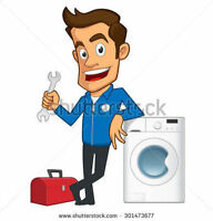 Appliance repairs, installations & gas hookup