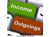 Bookkeeping services offered to the self employed, sole traders and small businesses