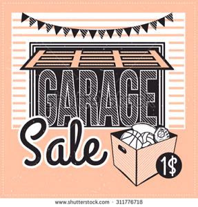 Garage Sale. Christmas Theme.  Saturday Sept23. 15 Melrose Cres.
