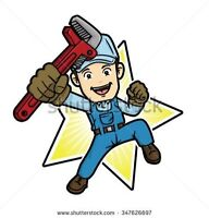 THE AFFORDABLE PLUMBER WHO'S AVAILABLE WHEN YOU ARE!!