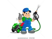 Outdoor Services - POWER HOSING