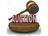 Auction at st George's Hall , stoke holy cross on thurs 14th dec
