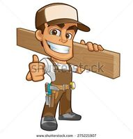 Professional Carpentry and Renovations for reasonable rates