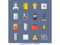 Electrician £25 p/h West London 074866 09127