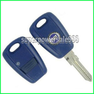 New 1 Button Blade Remote Key Shell Case For FIAT Bravo Punto