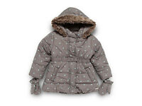 RJR.John Rocha Designer girl's coat and mittens 2-3 yrs