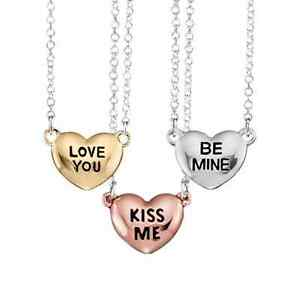 Valentine's Heart Necklace Be Mine & Bug Guard and bath oil