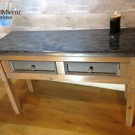 Console Table with Rocky Bay gloss top