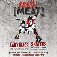 Roller Derby Girls Wanted in the Bow Valley!