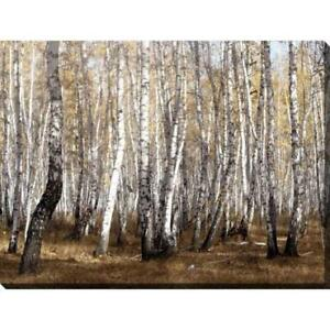 VIVID COLORS OF AUTUMN BIRCH PAINTING (PA1)