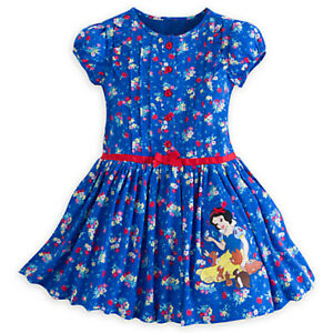 Authentic Disney Store Snow White Woven Dress. Size 3T.