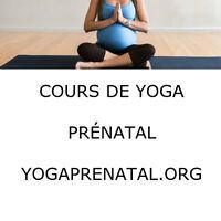 Yoga prénatal pour femme enceinte