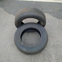 2 Tires - Used 1 Winter