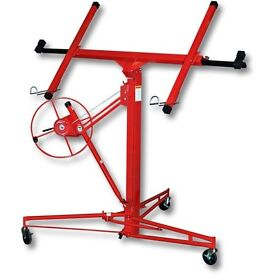 Plasterboard lifter, panel hoist. Max. 11ft height.