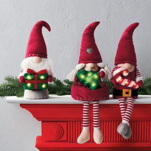 Nordic Elf Light Up Shelf Sitter