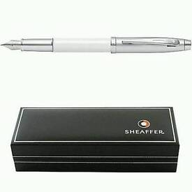"""Sheaffer fountain pen """"white"""""""