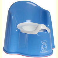 Baby Bjorn potty with backrest and splashguard