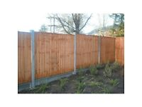 New Feather panel fence 6'x5', bargin