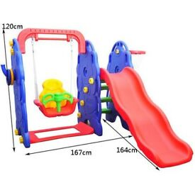 Kids Garden Playground 3in1 with Swing, Slide NEW IN BOX