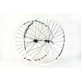 NEW Wilkinson road bike Wheels 700c Silver Omega Shimano Tiagra 7 8 9 10 speed Wheelset rrp.£144.99