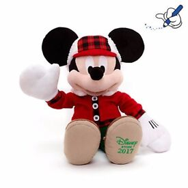 Disney Mickey Mouse 2017 medium soft toy - Brand New with Tags
