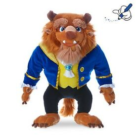 Beast Plush - Beauty and the Beast