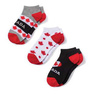 BRAND NEW 3 PACK CANADA SOCKS