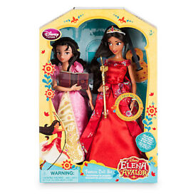 New gorgeous set from Disney Store: Elena of Avalor Deluxe Singing Doll Set