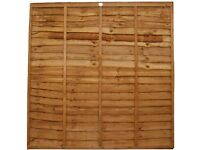 LAP FENCE PANEL 1829 X 1525MM (6' X 5'), very good quality