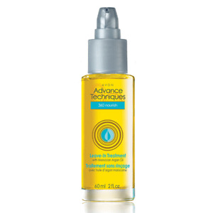 LEAVE-IN TREATMENT WITH MOROCCAN ARGAN OIL