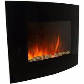 Wall mounted fire