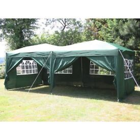 BRAND NEW COMMERCIAL MARKET STALL POPUP GAZEBO MARQUEE TENT FOR SALE