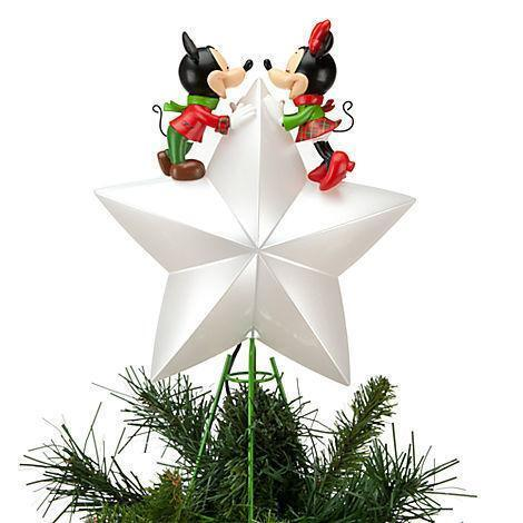 disney tree topper ebay - Disney Christmas Tree Topper