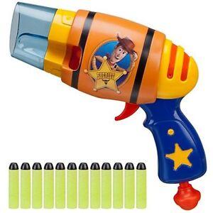 Disney Toy Story Woody'S Nerf Gun Blaster-