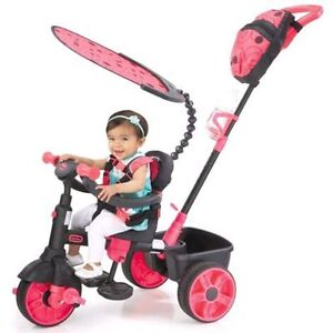 Little tike's pink tricycle bike 4 in 1
