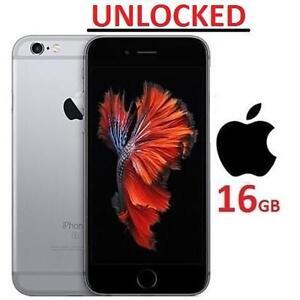 NEW OB APPLE IPHONE 6S 16GB PHONE - 118966976 - UNLOCKED SMARTPHONE SMART PHONE SPACE GREY IOS
