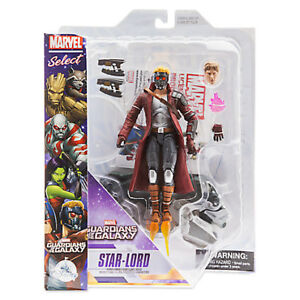 Disney Marvel Select GUARDIANS OF THE GALAXY Star Lord LAST ONE
