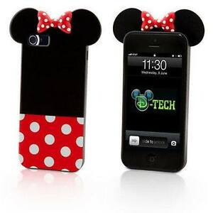 Authentic Minnie Mouse Disney phone case for IPHONE 5/5S/SE