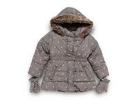 RJR.John Rocha Designer girl's coat and mittens 2-3 yrs