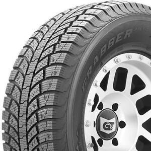 4 pneus dhiver neufs LT265/70/17 General Grabber Arctic LT 121/118R 10 plis. ***LIVRAISON GRATUITE AU QUÉBEC***
