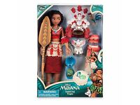 Disney Store Limited Edition Moana Singing Doll! Sold out in Stores! Rare unwanted gift!!
