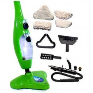 H2O H20 Steam Mop X5 5 in 1 Multi Function Steam Cleaner VGC