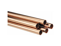 28mm copper pipe 28mm. 3 meter length each brand new.
