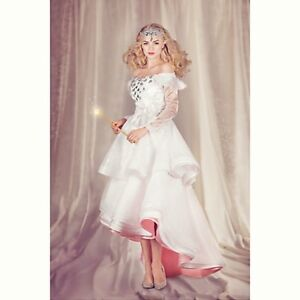 NEW-Glinda-Good-Witch-Costume-Oz-Great-and-Powerful-Disney-LE-300-Womens-8-10