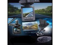 High Definition Car DVR Dash Camera with 6 IR LED's