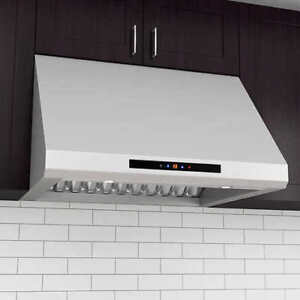 "NEW ANCONA 36"" UNDER CABINET PRO SERIES RANGE HOOD - 850 CFM"