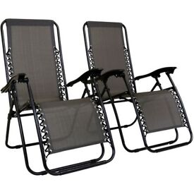 Suntan chairs, . excellent condition, collection only