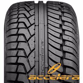 """2 X 19"""" ACCELERA SUV 4X4 ALL SEASON TYRES 275/45R19 XL 275 45 19 VW TOUAREG (FREE MOBILE FITTING)"""