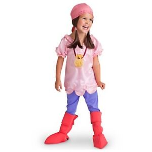 Disney Jake and the Never Land Pirates Izzy Kid Costume Size 4